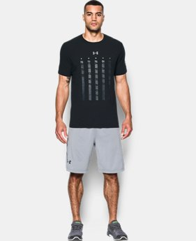 New Arrival Men's UA Heater 5 Star T-Shirt  1 Color $24.99