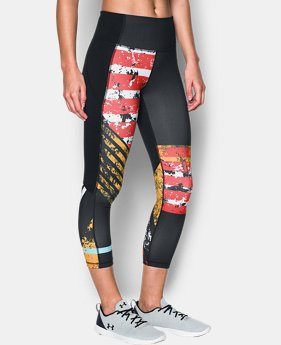 Women's UA Mirror Hi-Rise Printed Crop   $74.99