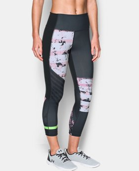 Women's UA Mirror Hi-Rise Printed Crop  1 Color $56.24