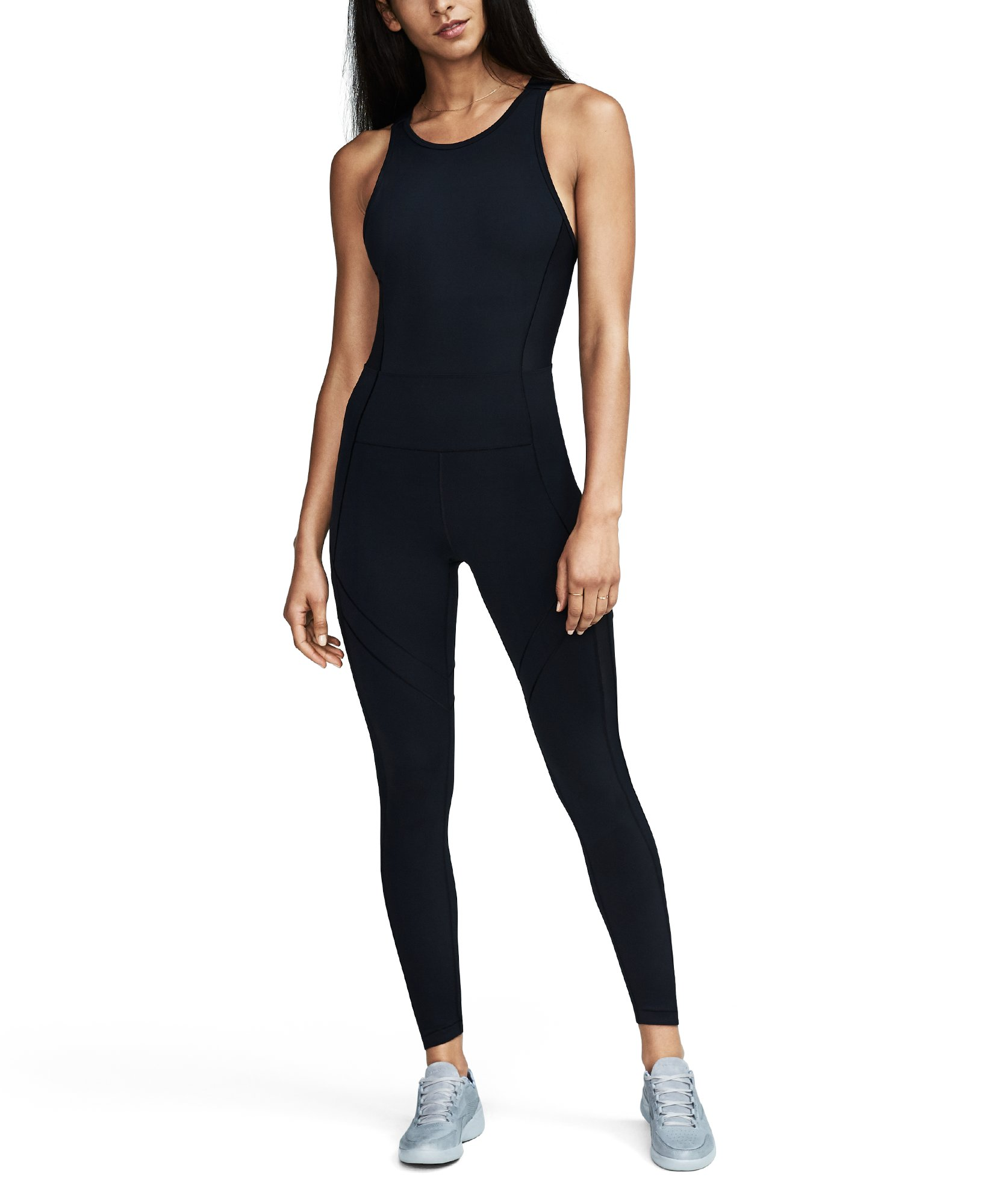 Women's UA Mirror BreatheLux Bodysuit, Black ,