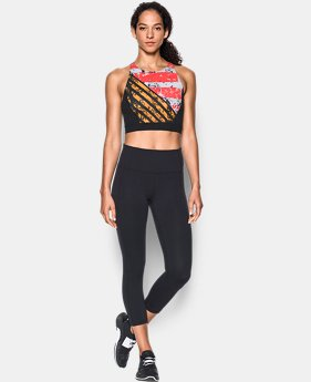 Women's UA Mirror Printed Crop Top  1 Color $52.99