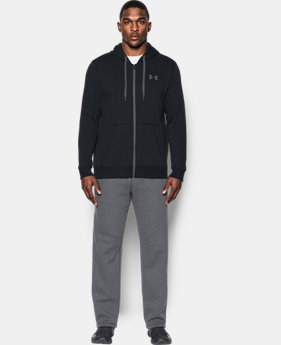 Men's UA Rival Fleece Fitted Full Zip Hoodie  5  Colors Available $54.99