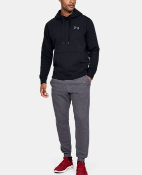 fabef5342dab New to Outlet Men's UA Rival Fleece Fitted Hoodie 3 Colors Available $35.99