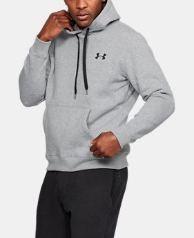 Men's UA Rival Fleece Fitted Hoodie LIMITED TIME OFFER 2 Colors $34.99