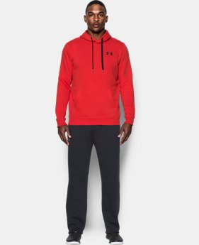 Best Seller Men's UA Rival Fleece Fitted Hoodie  1 Color $44.99
