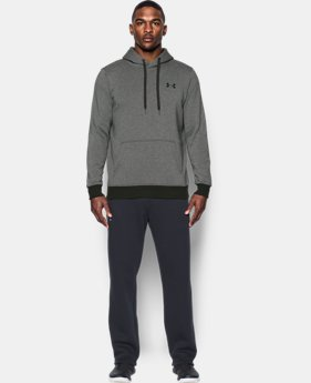 Men's UA Rival Fleece Fitted Hoodie  1 Color $49.99