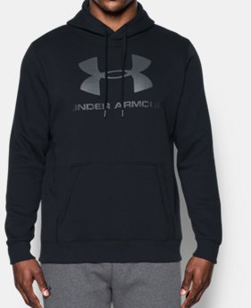 Men's UA Rival Fleece Fitted Graphic Hoodie LIMITED TIME ONLY 5  Colors Available $31.49