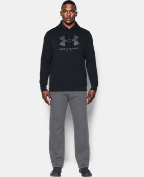 Men's UA Rival Fleece Fitted Graphic Hoodie   $44.99