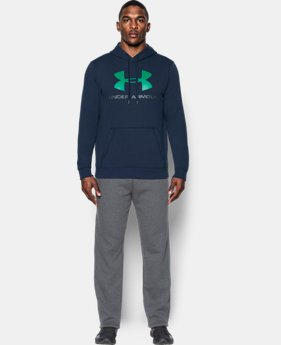Best Seller  Men's UA Rival Fleece Fitted Graphic Hoodie  2 Colors $49.99