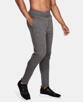 Men's UA Rival Fleece Fitted Pants  3 Colors $44.99