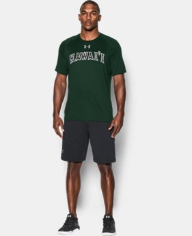 Mens Hawai'i UA Tech™ Team T-Shirt LIMITED TIME: FREE SHIPPING  $29.99