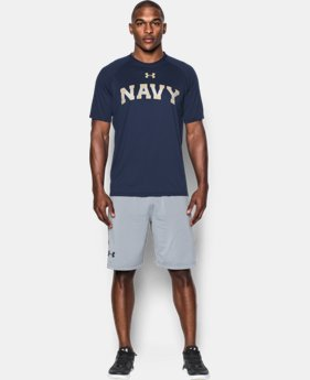 Men's Navy UA Tech™ Team T-Shirt LIMITED TIME: FREE SHIPPING  $29.99