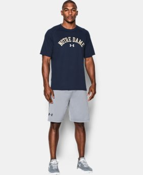 Men's Notre Dame UA Tech™ Team T-Shirt LIMITED TIME: FREE SHIPPING  $29.99
