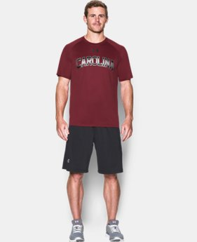 New Arrival Men's South Carolina UA Tech™ Team T-Shirt   $29.99