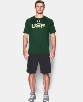 New Arrival Men's South Florida UA Tech™ Team T-Shirt LIMITED TIME: FREE SHIPPING 1 Color $29.99