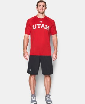 New Arrival Men's Utah UA Tech™ Team T-Shirt LIMITED TIME: FREE SHIPPING 1 Color $29.99
