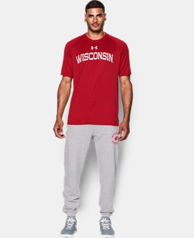 Men's Wisconsin UA Tech™ Team T-Shirt