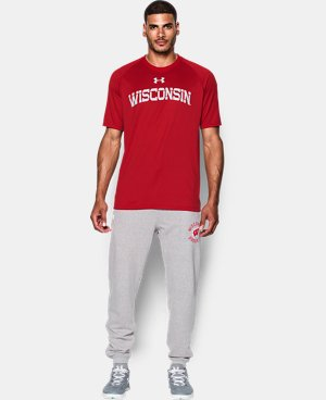 Men's Wisconsin UA Tech™ Team T-Shirt  1 Color $29.99
