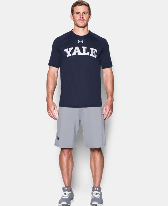 Men's Yale UA Tech™ Team T-Shirt LIMITED TIME: FREE U.S. SHIPPING 1 Color $29.99