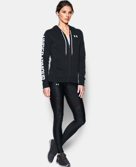Women's UA Favorite Fleece Full Zip Hoodie  4 Colors $74.99