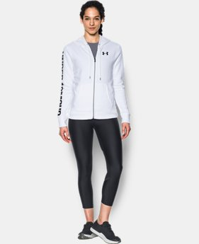 Women's UA Favorite Fleece Full Zip Hoodie LIMITED TIME OFFER 5 Colors $39.99