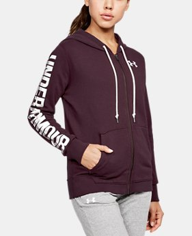 Women's UA Favorite Fleece Full Zip Hoodie LIMITED TIME OFFER 1 Color $39.99