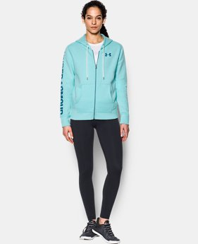 Women's UA Favorite Fleece Full Zip Hoodie LIMITED TIME OFFER 2 Colors $49.99