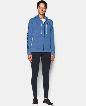Women's UA Favorite Fleece Full Zip Hoodie  1 Color $59.99