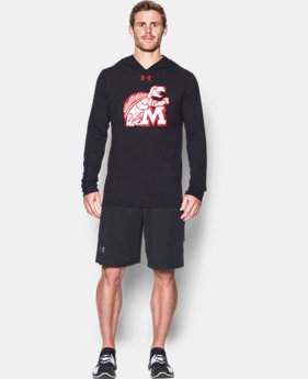 New Arrival Men's Maryland UA Tri-Blend Hoodie   $44.99