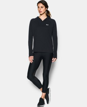Women's UA Charged Cotton® Tri-Blend T-Shirt Hoodie  1 Color $29.99