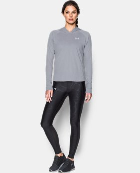 Women's UA Charged Cotton® Tri-Blend T-Shirt Hoodie  1 Color $37.49
