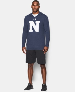 Men's Navy UA Tri-Blend Hoodie  1 Color $33.99