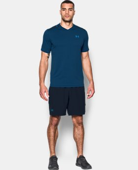 Men's UA Threadborne™ Tournament Tennis V-Neck  1 Color $59.99
