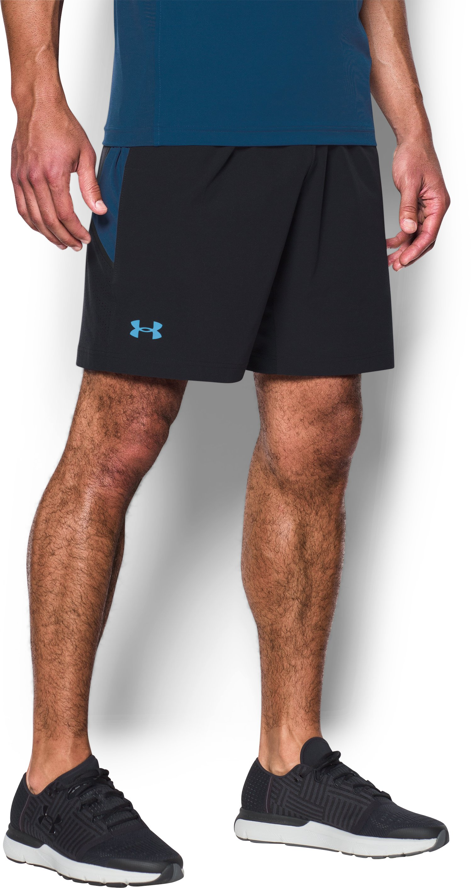 Men's UA Tennis Tournament Shorts, Black