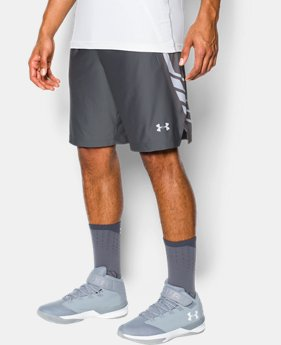 "Men's UA Team 9"" Shorts  1 Color $29.99 to $39.99"