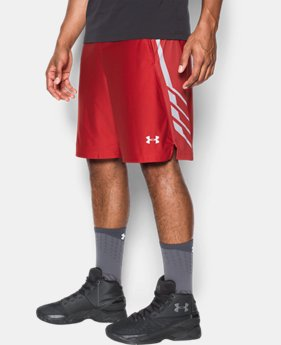 "Men's UA Team 9"" Shorts  1 Color $18.99 to $29.99"