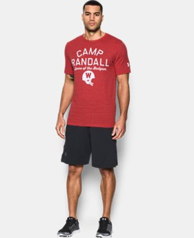 New Arrival Wisconsin UA Iconic Camp Randall T-Shirt  1 Color $39.99