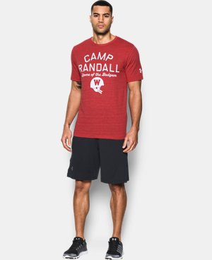 Wisconsin UA Iconic Camp Randall T-Shirt   $39.99