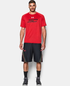 Men's SC30 Davidson Sleeve Logo T-Shirt