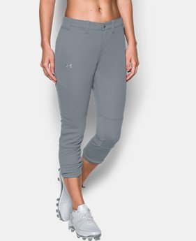 Women's UA Force Out Crop Pants  1  Color Available $39.99