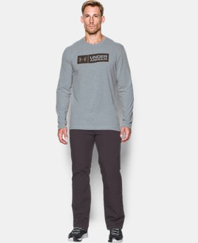 Men's UA Antler Tag Long Sleeve T-Shirt  1  Color Available $26.24