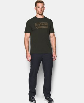 Men's UA Hunt Pill T-Shirt  1 Color $18.74