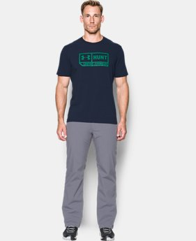 Men's UA Hunt Pill T-Shirt  1 Color $22.49