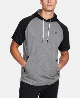 Men's UA Sportstyle Terry Short Sleeve Hoodie  1 Color $49.99