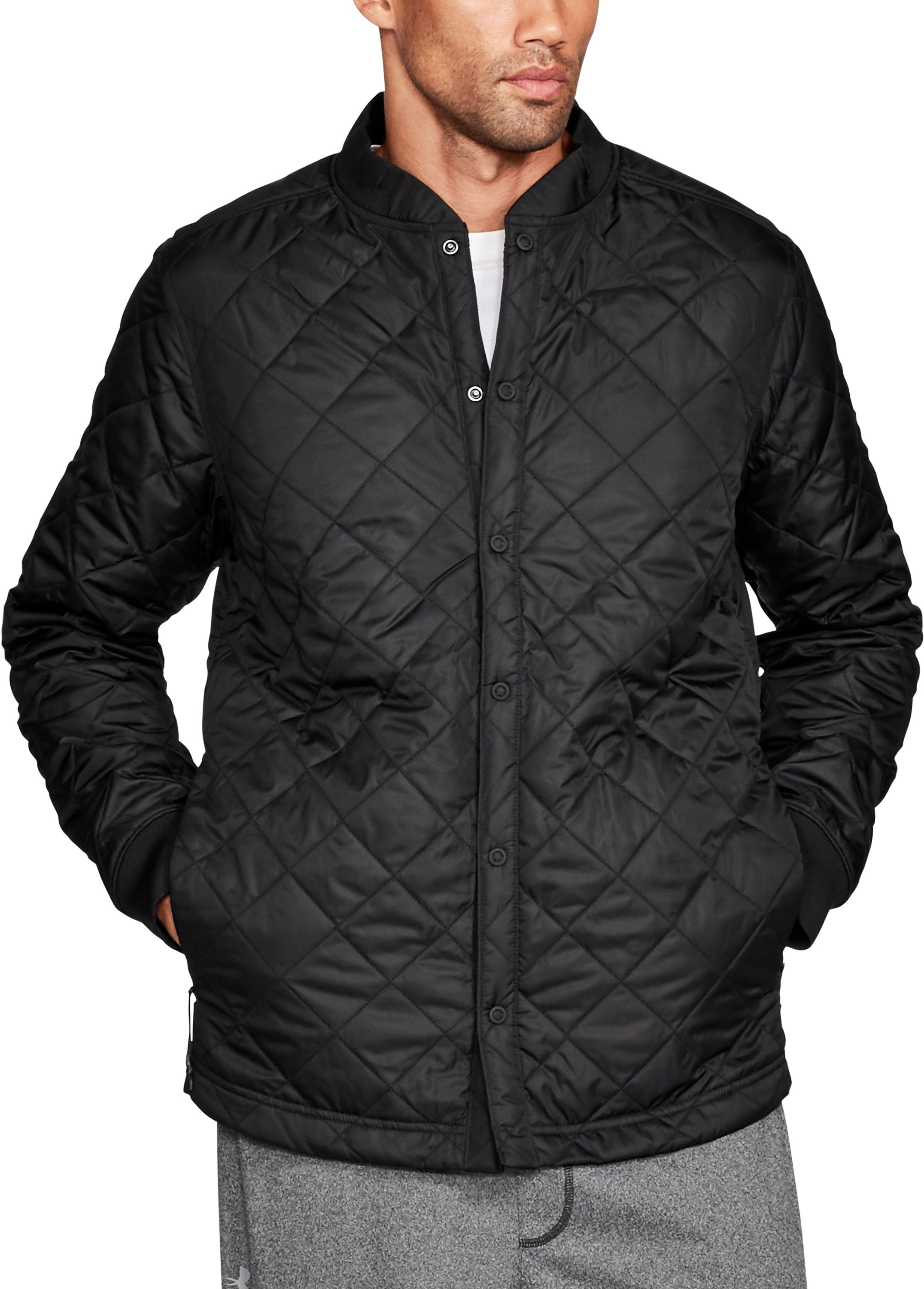 Men's UA Sportstyle Shirt Jacket, Black
