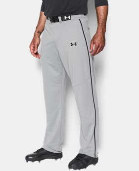New Arrival Men's UA Heater Piped Baseball Pants  2 Colors $39.99