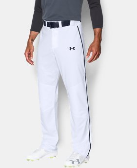 Men's UA Heater Piped Baseball Pants  1 Color $39.99
