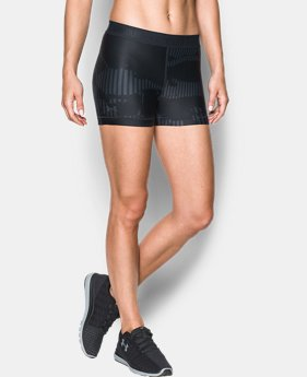 Women's HeatGear® Armour Printed Shorty  1 Color $29.99