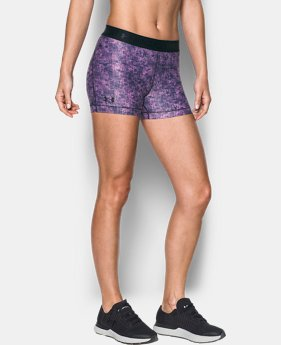 Women's HeatGear® Armour Printed Shorty  3 Colors $29.99