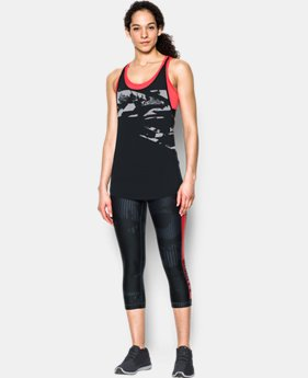 Women's HeatGear® Armour 2-in-1 Printed Tank  1 Color $64.99